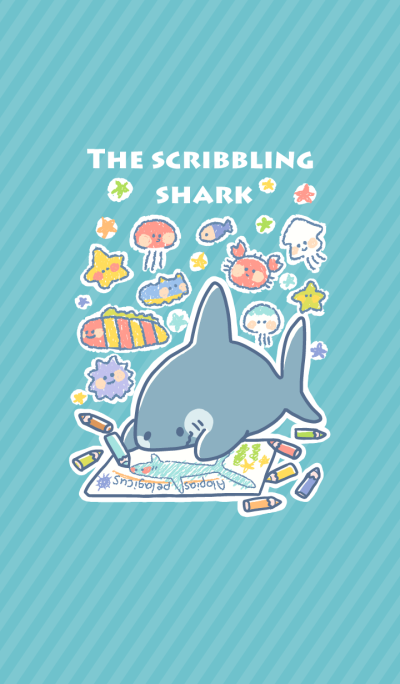 THE SCRIBBLING SHARK