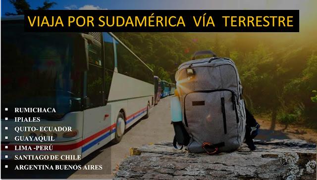 imagen Viajar por Sudamérica por vía terrestre