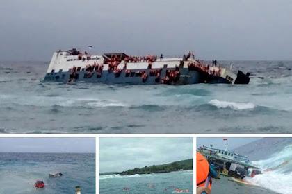 BREAKING NEWS : KM Lestari Maju Tenggelam di Perairan Selayar, Sulawesi