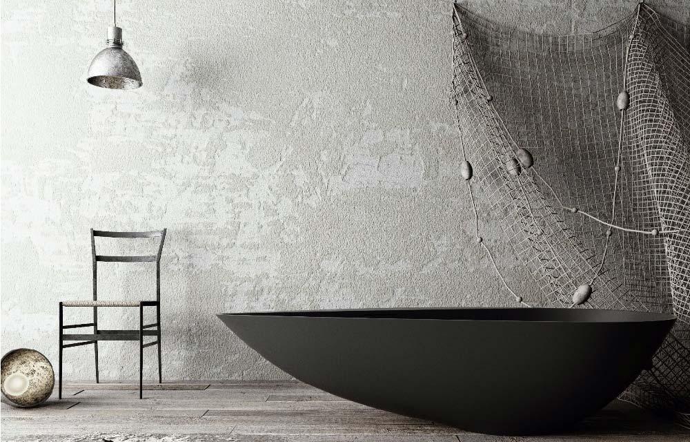 COZZA vasca free standing disegnata da ZDA Zupelli Design Architettura