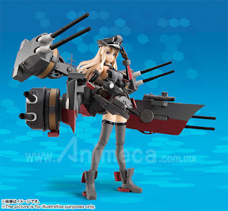 Figura Armor Girls Project Bismarck Drei Kantai Collection KanColle