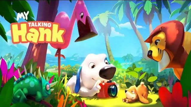 My Talking Hank Mod Apk Gratis Terbaru