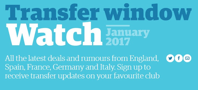 January 2017 Transfer Window