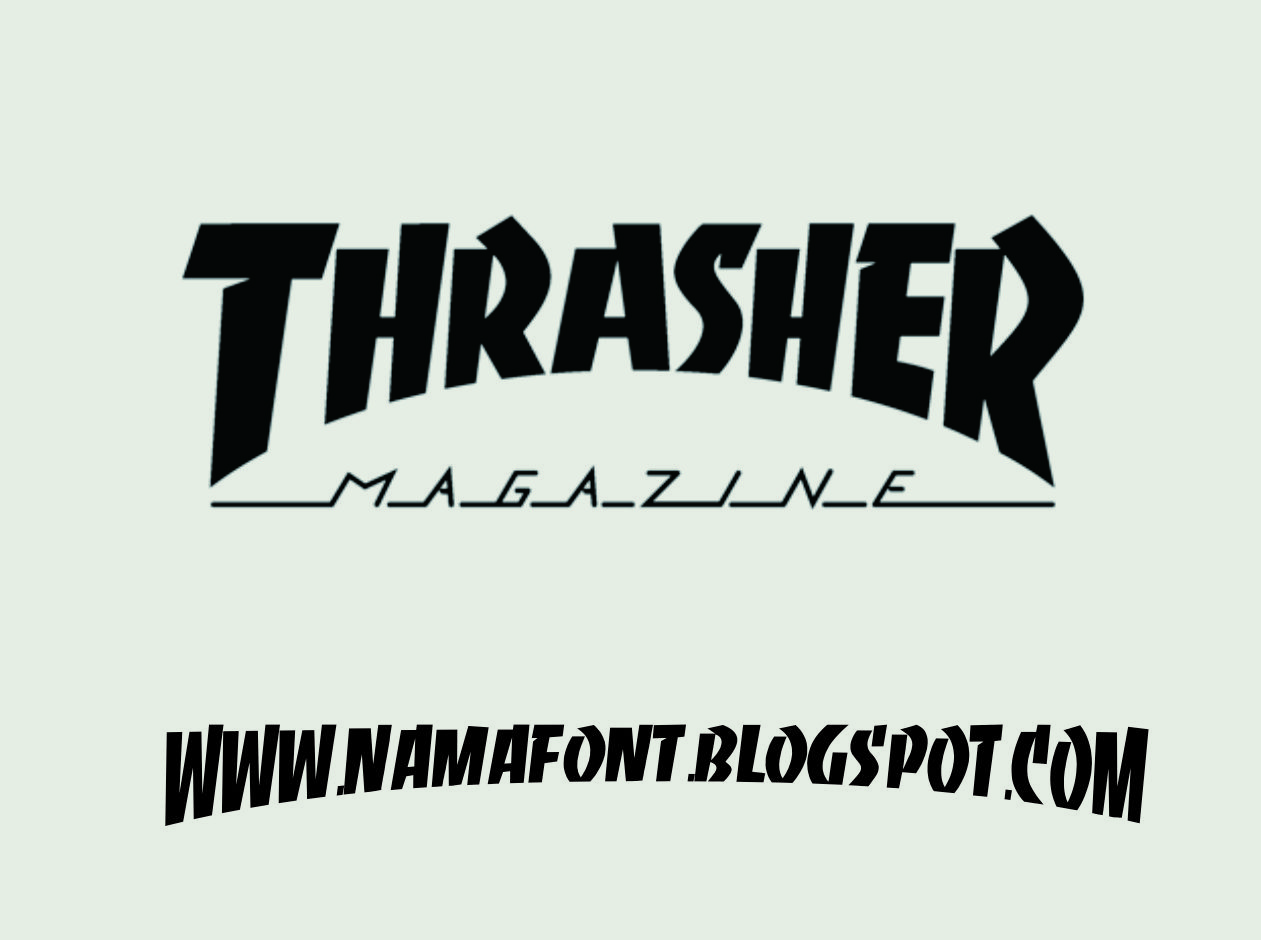Images of Thrasher Font Free Download - #rock-cafe