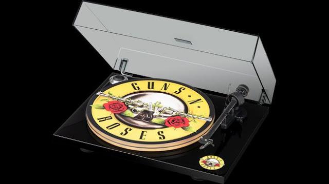 Turntable Guns N' Roses