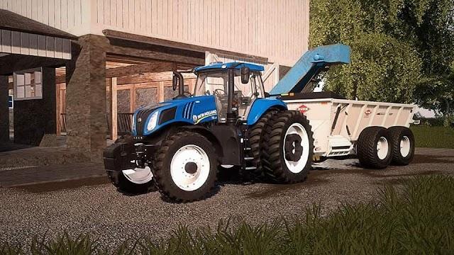 FS19 New Holland T8 US v1.1