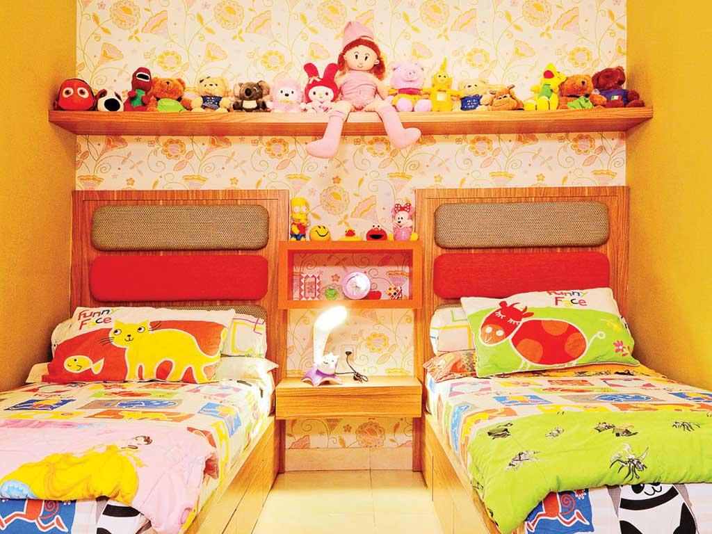 Desain Kamar Tidur Anak 2 Orang