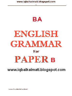 Grammar book in urdu pdf english