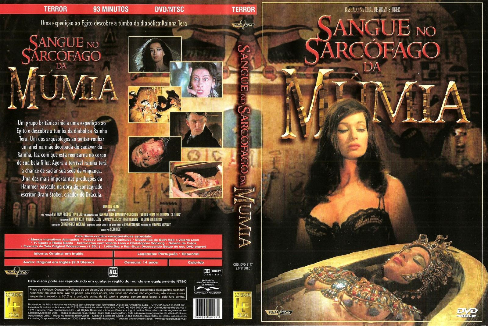 Poster do filme Sangue no Sarcófago da Múmia
