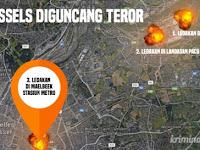 10 Fakta tentang Ledakan Bom Brussels