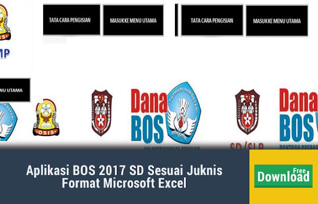 Aplikasi BOS 2017 SD