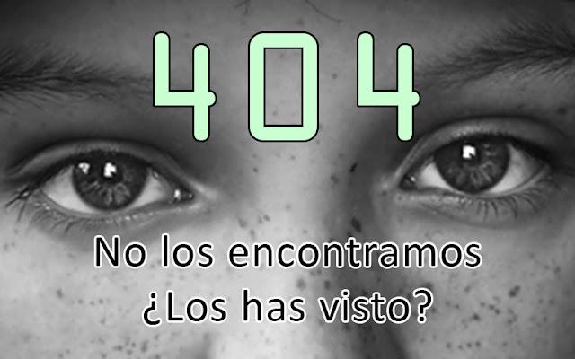 Error 404: No sé dónde esta