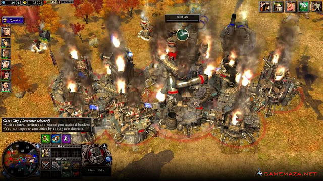 Rise of Nations Rise of Legends Gameplay Screenshot 3