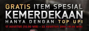 Event Top Up Promo 17 Agustus PB Garena Indonesia Dapatkan Item Gratis