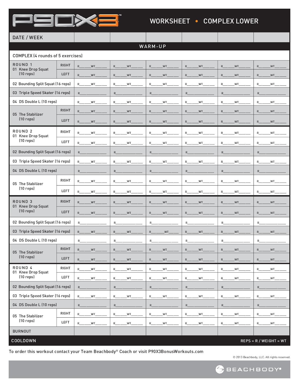 Beautiful Beachbody P90x2 Workout Sheets Eoua Blog
