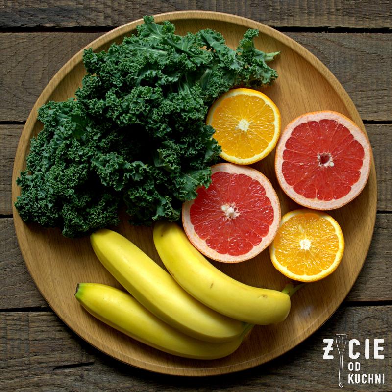 z czego zrobic smoothie, skladniki na smoothie, zielone smoothie, chlorofil, jarmuz, zielone smoothie, zielony koktajl, zycie od kuchni