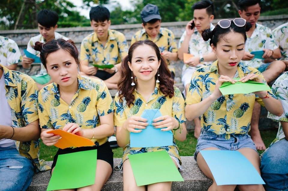 Do nhom di bien tai Hoang Mai