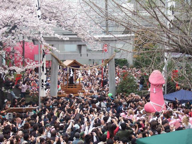 Lễ hội Honen Sai tỉnh Aichi (15/3)