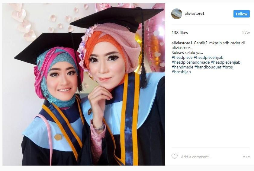 Berikut ini Kumpulan Foto Wisuda Mengenakan Headpiece Hijab Wisuda,  mudah,mudahan menginspirasi