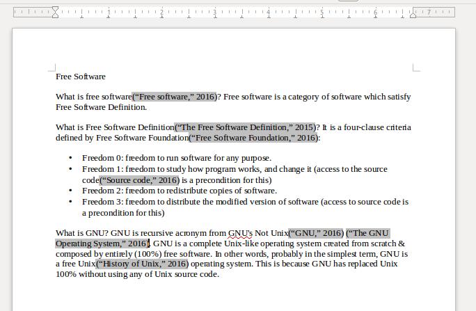 Ubuntu Buzz !: How To Create Basic Citation & Bibliography