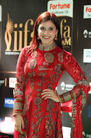 Mannara Chopra and Khushbu in Red at IIFA Utsavam Awards 2017  Day 2  Exclusive 09.JPG