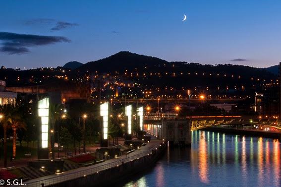 Fotografia Nocturna de Bilbao