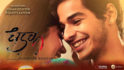 dhadak movie counter