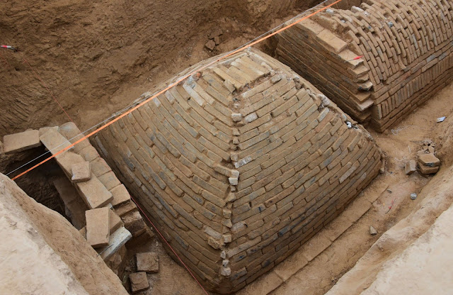 Unearth 2,000-year-old pyramid under a construction site