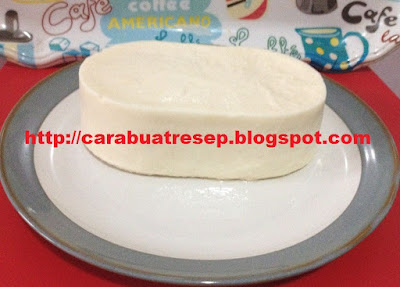 Foto Resep Keju Mozarella Kw Ala Rumahan (Homemade) Sederhana Asli Enak Buatan Sendiri