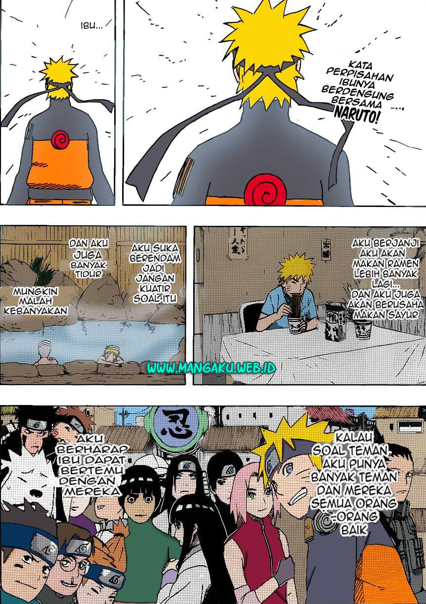 02 Naruto 505   Mengeluarkan Chakra Kyuubi