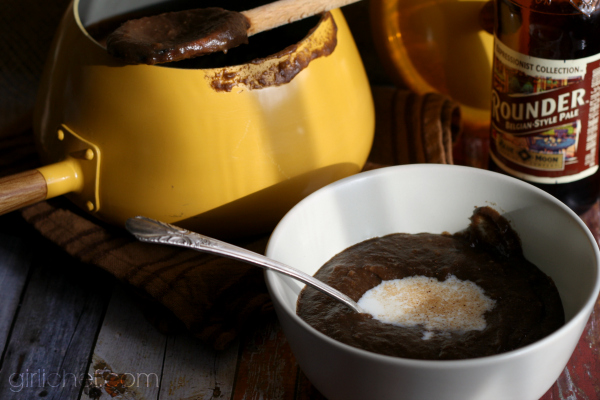 <b>Øllebrød (Danish Rye Porridge) or Ale and Bread Soup</b> inspired by Babette's Feast {food 'n flix}