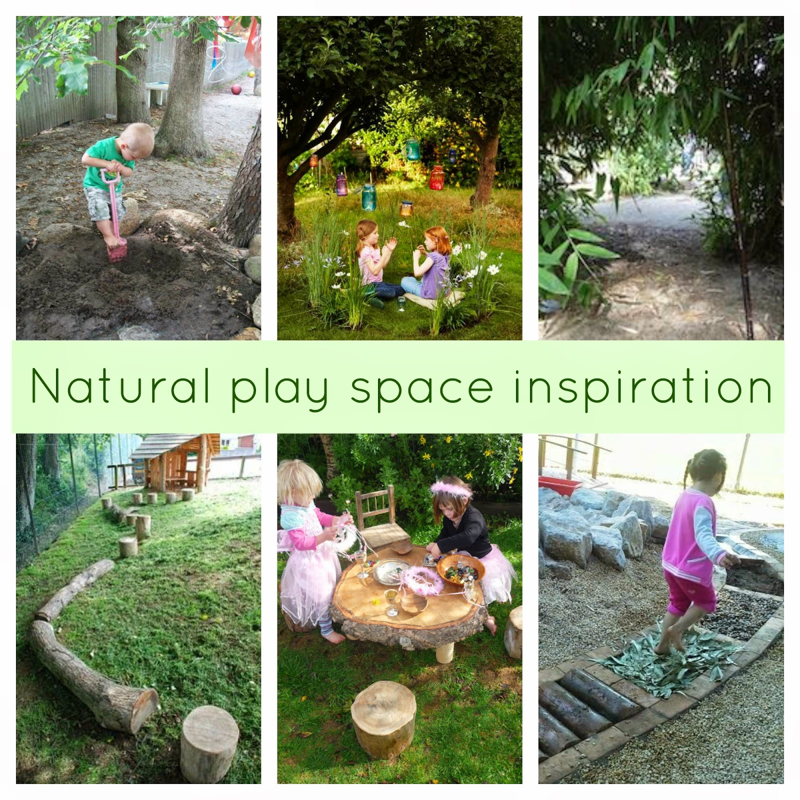 ideas for natural play spaces
