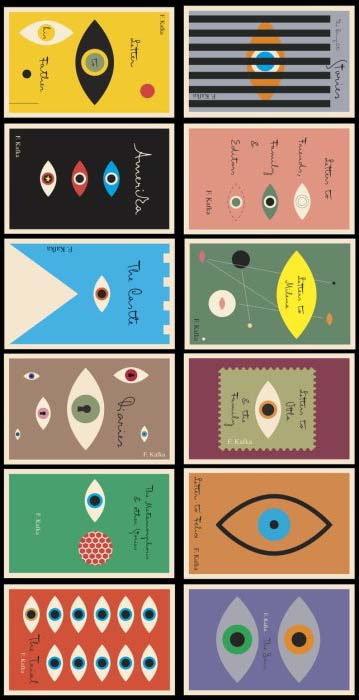 New Kafka Book Covers by Peter Mendelsund, 2011