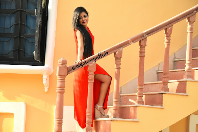 When in doubt, Wear Red - OOTD Long Maxi Dress