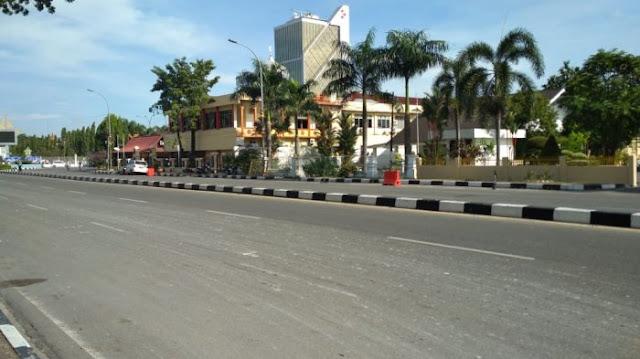 Polisi Ditabrak Di Mapolda Riau, Begini Kondisinya