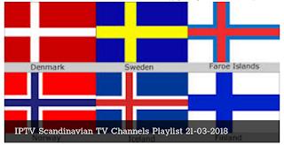 IPTV Scandinavian TV Channels Playlist 2018