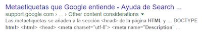 Meta Descripciones en HTML 1