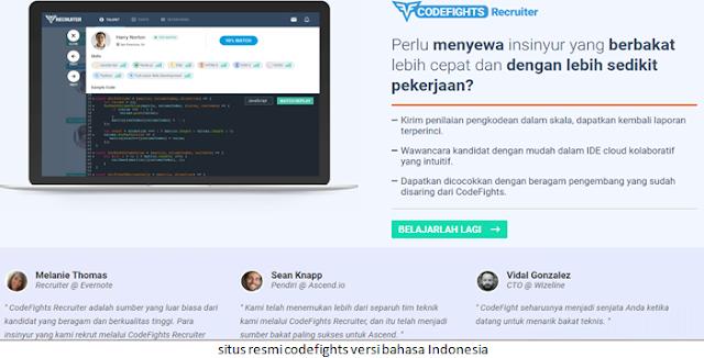 situs resmi codefights versi bahasa Indonesia