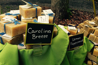 Summerville Flowertown Festival 2015 - Thistle Ridge Soap Carolina Breeze and Lemon Poppyseed | The Lowcountry Lady