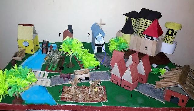 manorialism diorama