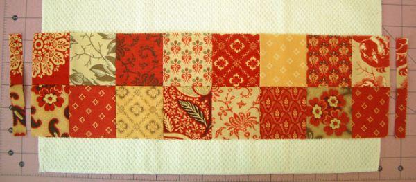 C mo decorar servilletas con retazos de tela para el for Tela para manteles de mesa