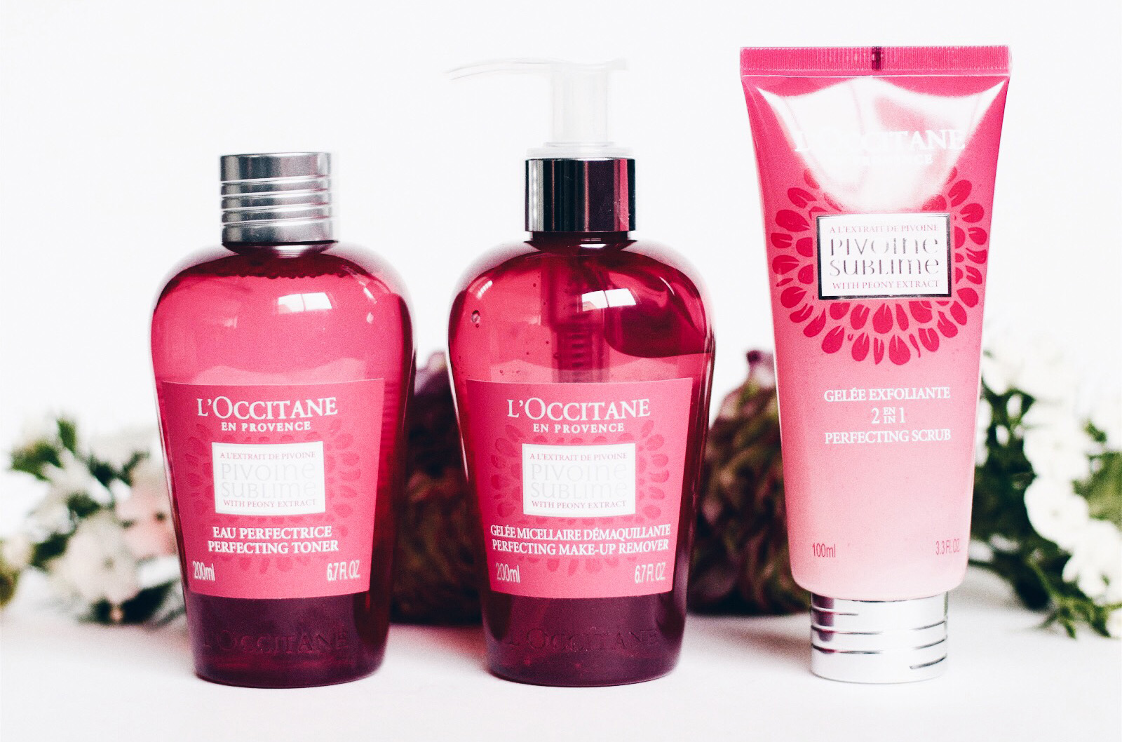 l'occitane nettoyants pivoine sublime test avis