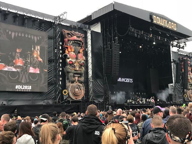 Marmozets at Download UK 2018