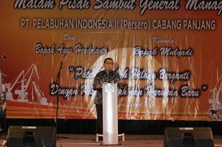 Gubernur Lampung : GM IPC Panjang Harus Bisa Bangun Sinergi