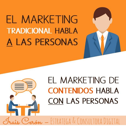 Marketing Tradicional vs Marketing de Contenidos.