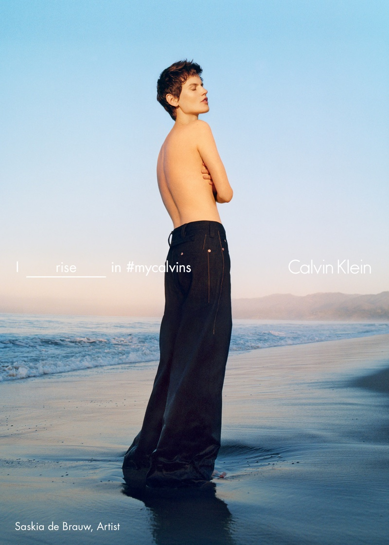 Calvin Klein goes diverse for its Spring/Summer 2016 Campaign
