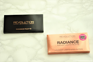 Review: Makeup Revolution - Radiance Highlighter Palette - www.annitschkasblog.de