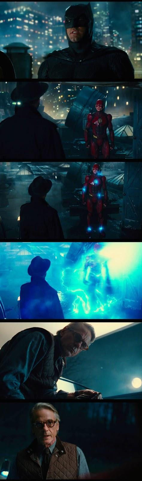 Justice League Comic Con Sneak Peek Screenshots