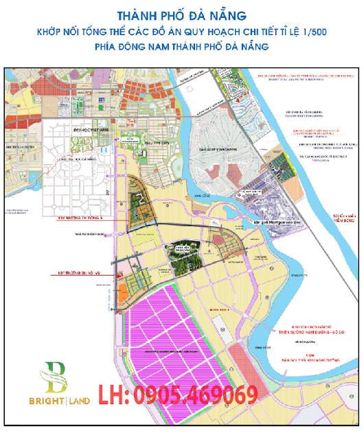 Quy hoạch chi tiết 1/500 khu Nam Đà Nẵng