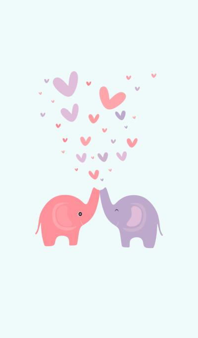 Simple Elephant Love